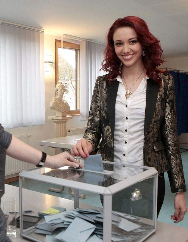Quand une Miss France se lance en politique