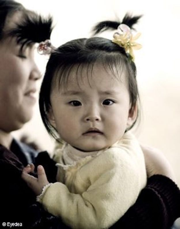 63 % des bébés gardés par leurs parents