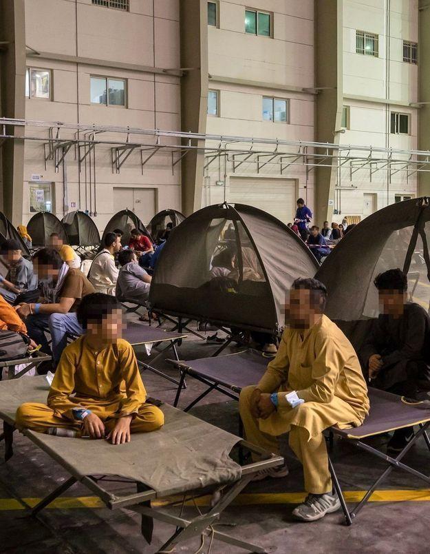 A Abou-Dabi, l'arrivée continue de réfugiés afghans au destin chaviré