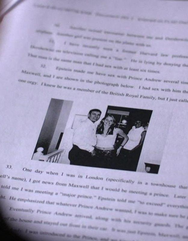 Affaire Epstein : les déclarations glaçantes de Virginia Giuffre sur ses rencontres présumées avec le prince Andrew
