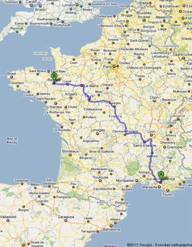 Aix : une jeune femme kidnappée et abandonnée à Rennes