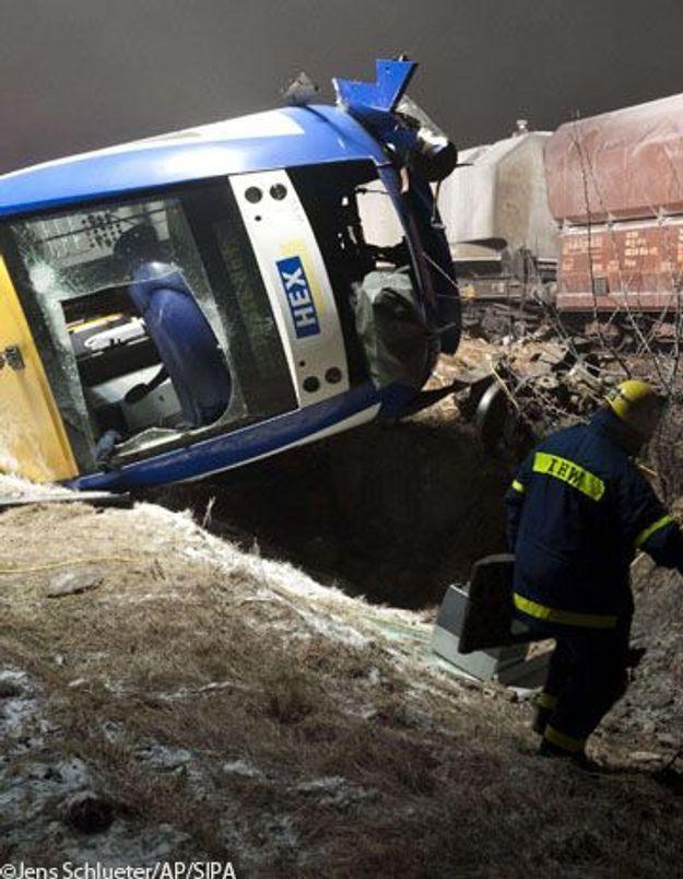 Allemagne : 10 morts dans une collision entre deux trains
