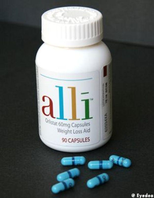 Alli annulerait les effets des pilules contraceptives