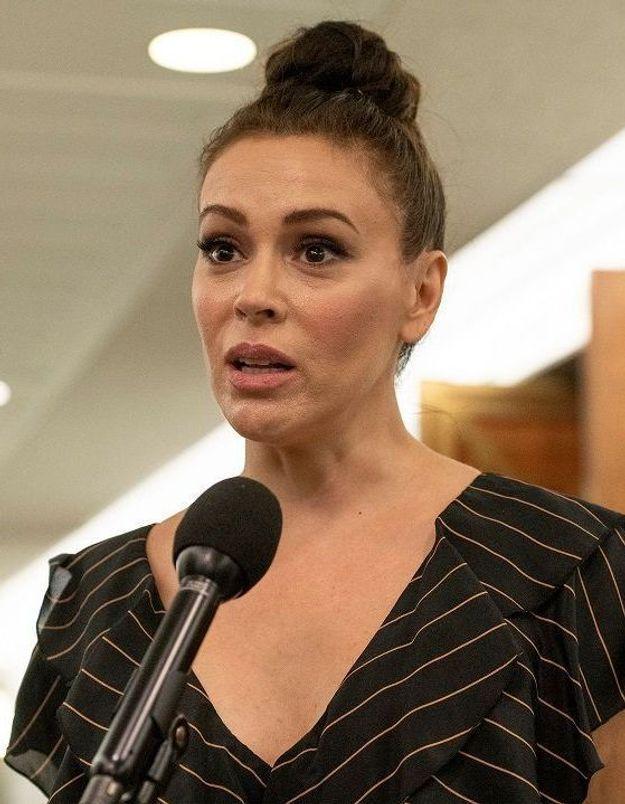 Alyssa Milano agressée sexuellement : « Je ne l'ai dit à personne parce que je ne savais pas à qui en parler »
