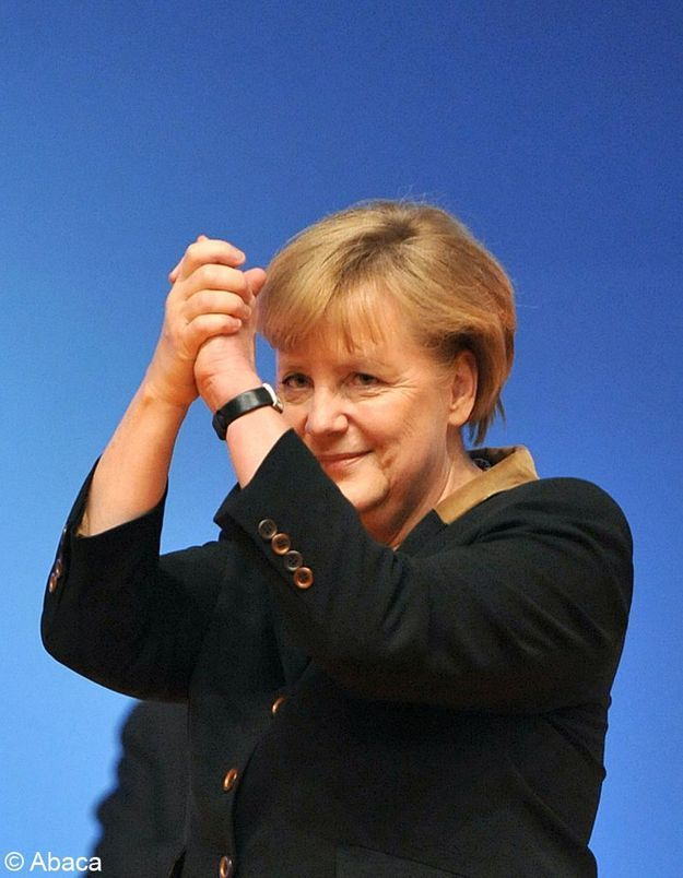 Angela Merkel réélue haut la main à la tête de son parti
