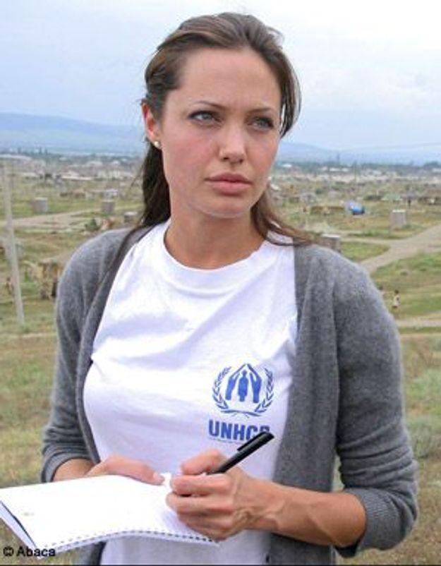 Angelina Jolie, en mission en Thaïlande pour l'Onu