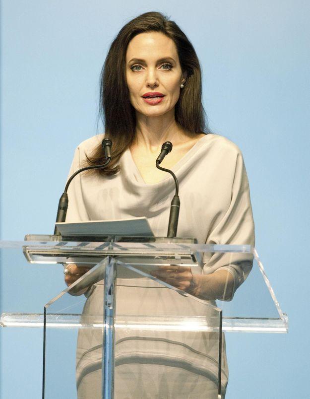 Angelina Jolie : « Un homme qui maltraite des femmes n'est pas obsédé par le sexe. Il est violent »