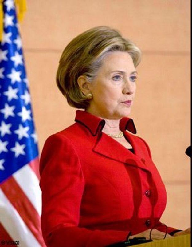 Arrivée d'Hillary Clinton à Jérusalem