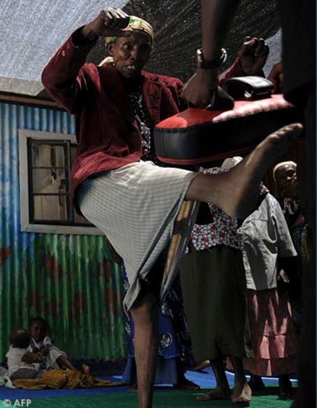 Au Kenya, les grand-mères se mettent au kung-fu