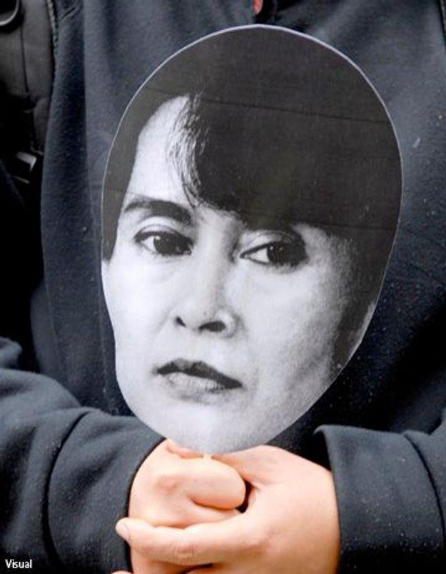 Aung San Suu Kyi honorée par la ville de Strasbourg