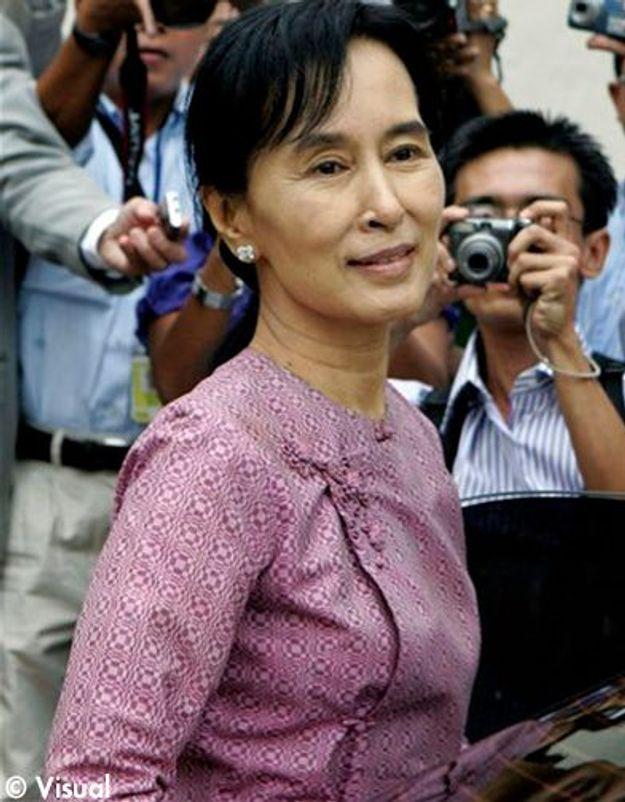 Aung San Suu Kyi rencontre le président birman