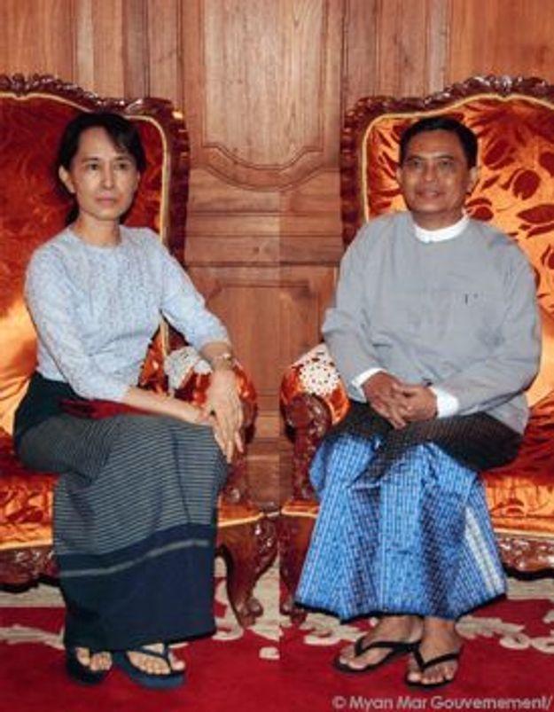 Aung San Suu Kyi : un cliché pour la forme ?