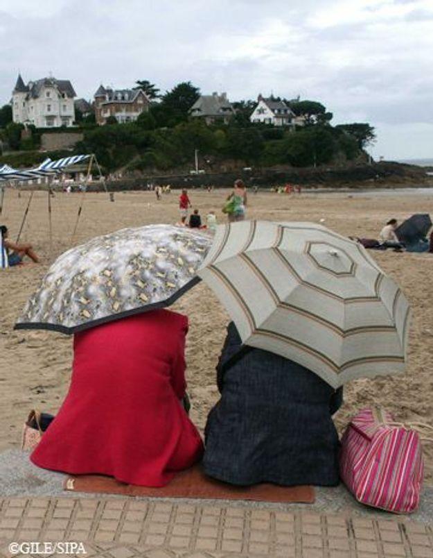 Avec le mauvais temps, les vacanciers se font rembourser