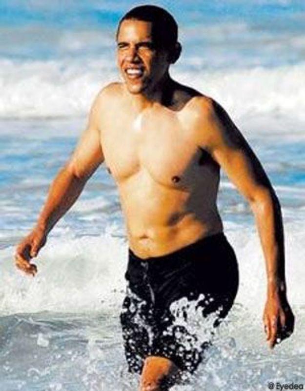 Barack Obama en maillot de bain