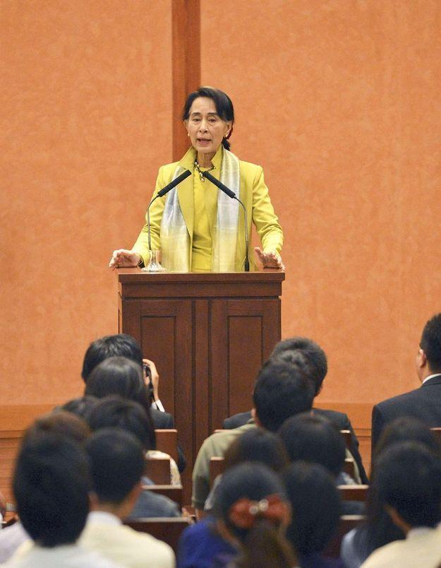 Birmanie : Aung San Suu Kyi rappelle la nécessité d'un Etat de droit