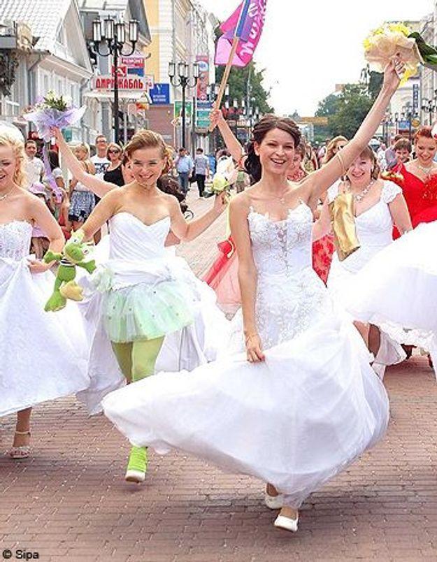 Brésil : la première « Parade des mariées » à Sao Paulo