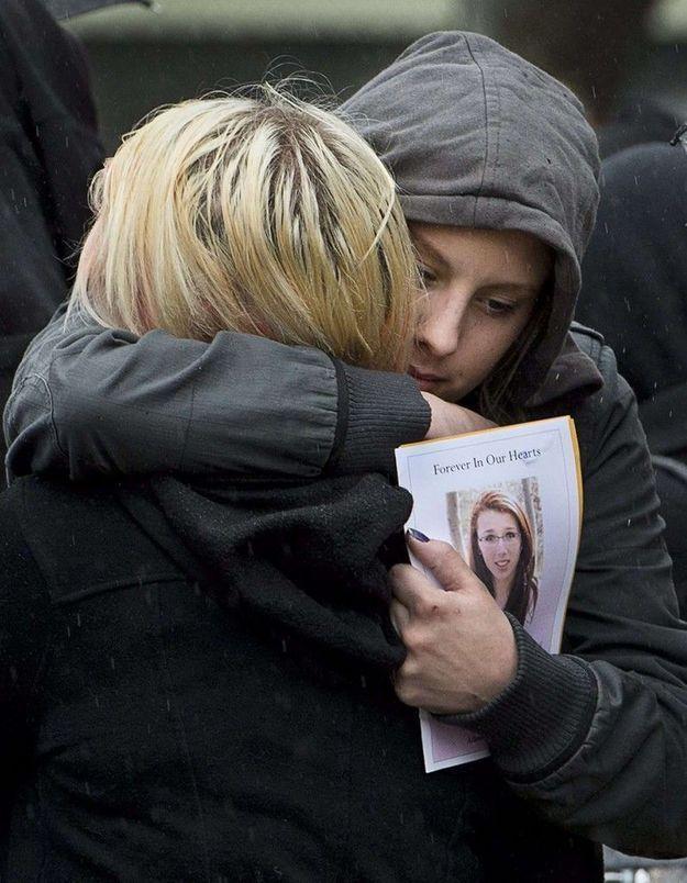 Canada: obsèques de l'ado victime de cyberharcèlement
