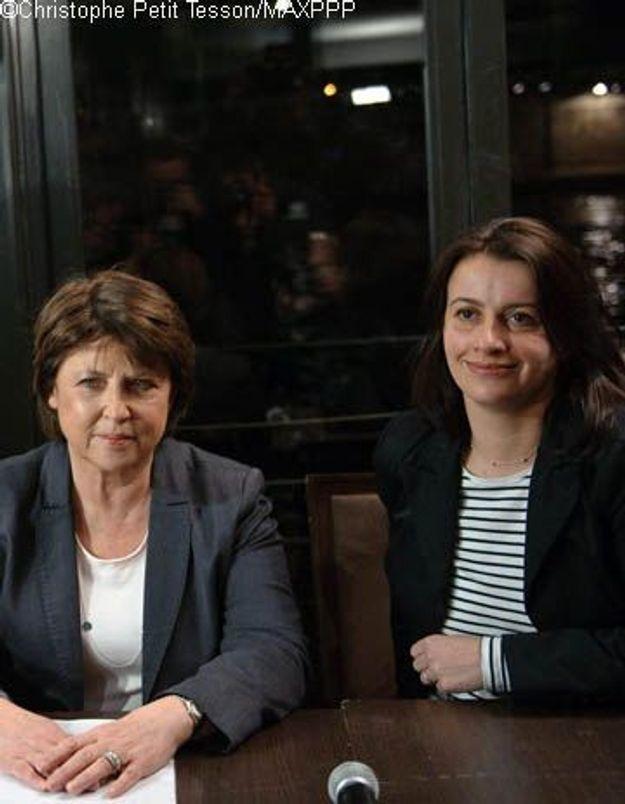 Cantonales : Martine Aubry et Cécile Duflot en désaccord