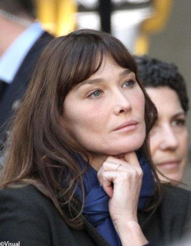 Carla Bruni n'est pas prête à faire de la politique