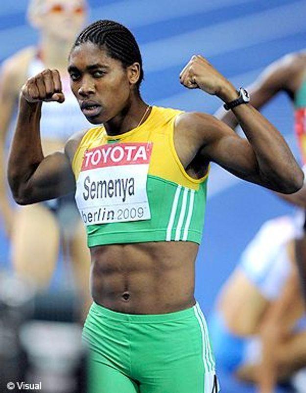 Caster Semenya, une sportive accusée... d'être un homme !
