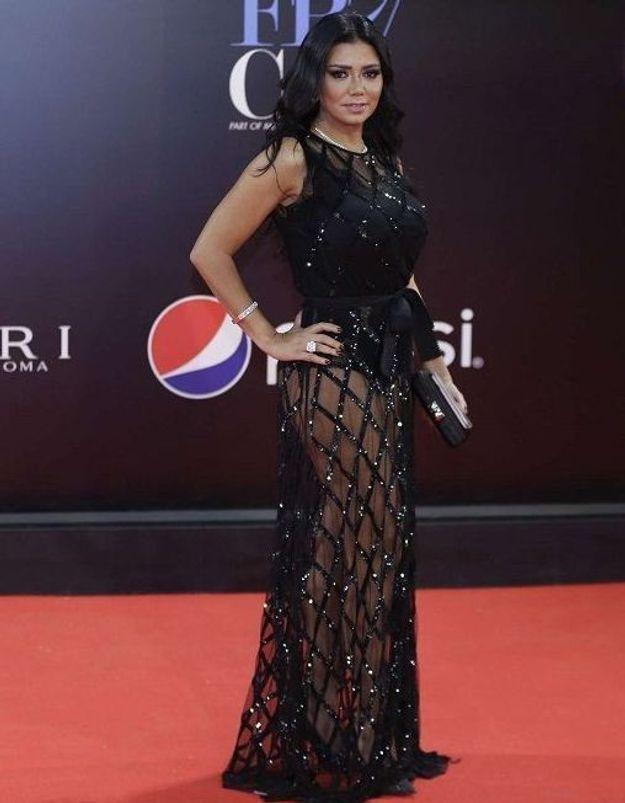 Cette actrice risque la prison pour avoir porté une robe transparente