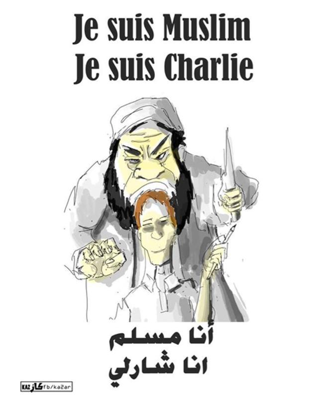 Kaz, illustrateur syrien