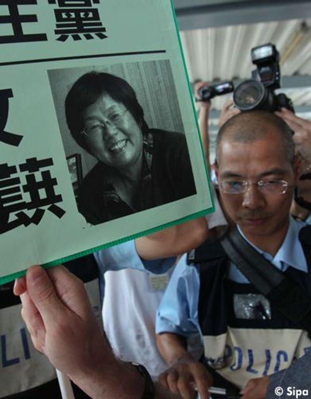 Chine:prison ferme pour une militante des droits de l'Homme