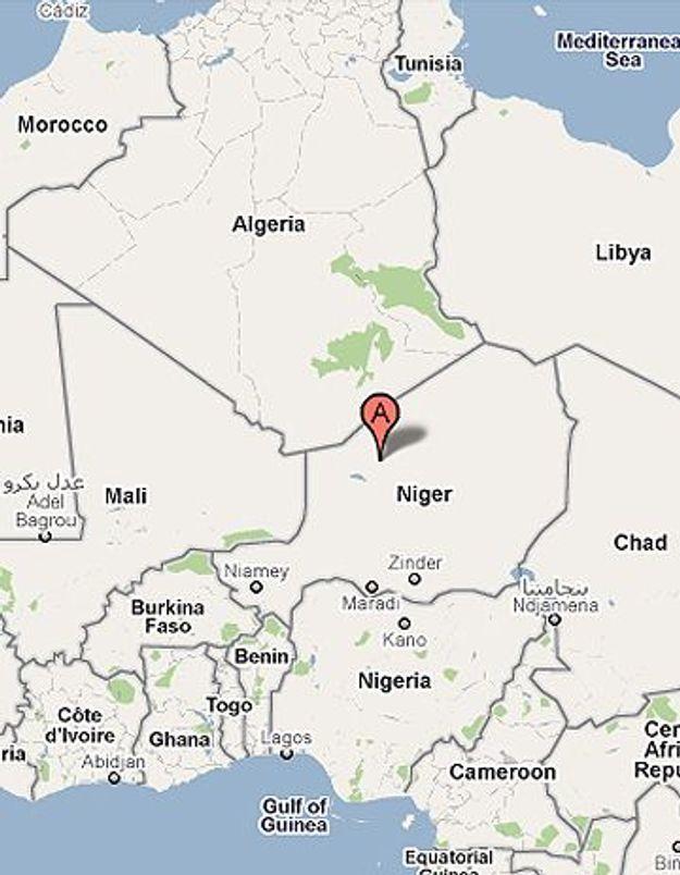 Cinq Français enlevés au Niger