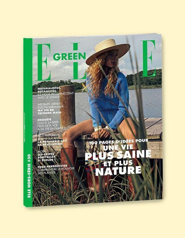 Découvrez notre hors-série ELLE Green en kiosque
