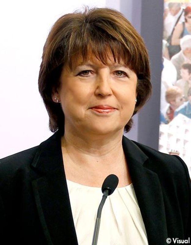 Des personnalités lancent un appel pour l'égalité avec Martine Aubry