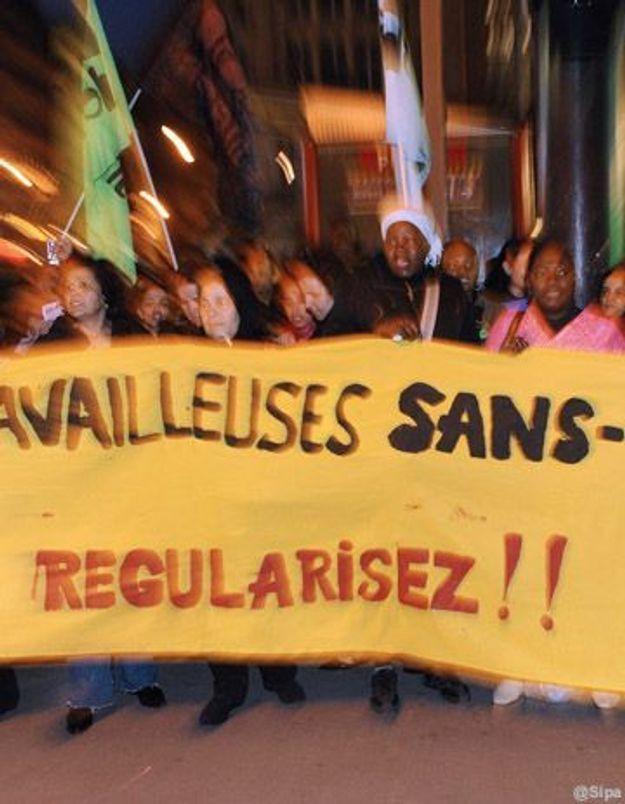 Des travailleuses sans papiers exigent leur « autonomie »