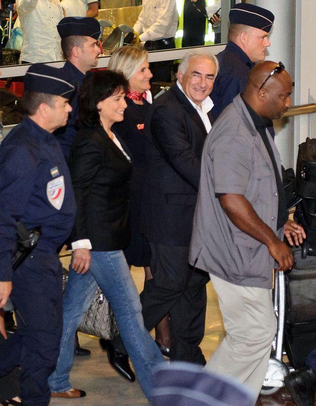 Dominique Strauss-Kahn est rentré en France