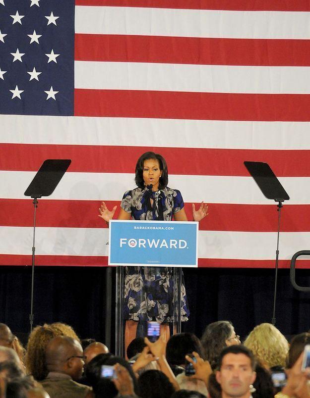 Elections US : dernier meeting pour Michelle Obama
