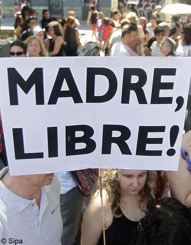 Espagne: Protestations contre la limitation du droit à l'IVG