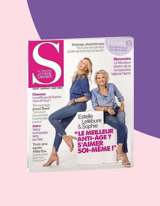 Estelle Lefébure dans S, le magazine de Sophie Davant : « On m'a toujours choisie parce que je représentais la fille de l'été »
