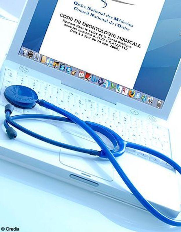 Êtes-vous prêtes à consulter un médecin sur le net ?