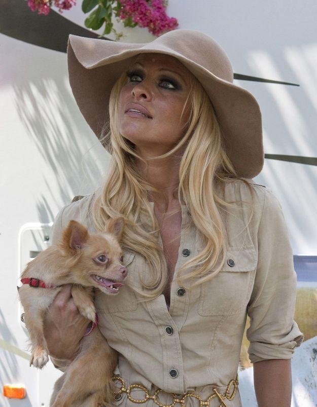 """Exclu - Pamela Anderson lance un appel : """"Les animaux ne sont pas des cadeaux – pourquoi je n'offrirai jamais un chiot à Noël"""""""