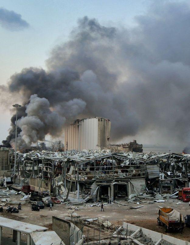 Explosion à Beyrouth : la France vient en aide au Liban