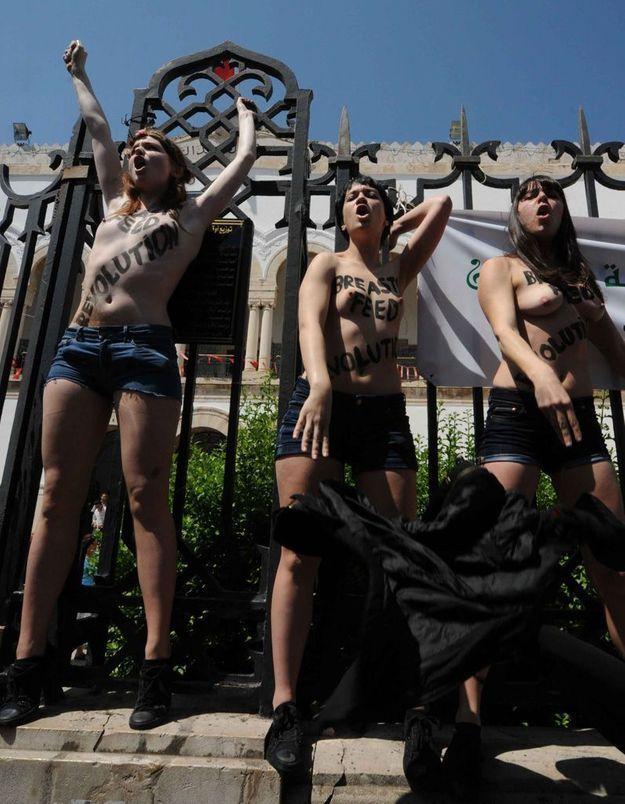 Femen : Amina reste en prison