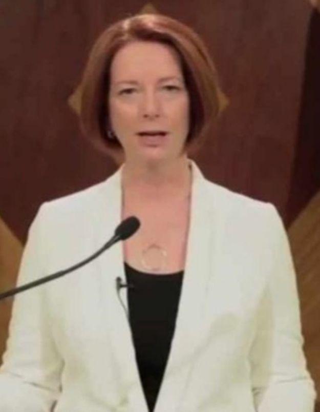 Fin du monde : le message plein d'humour de Julia Gillard