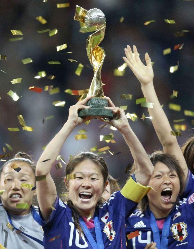 Foot féminin : les Japonaises championnes du monde !