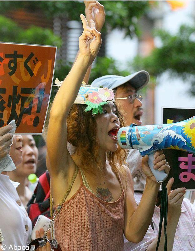 Fukushima : Des manifestants japonais exigent l'arrêt du nucléaire