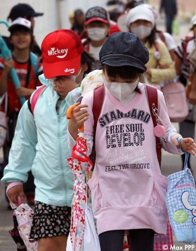 Fukushima : les enfants placés sous surveillance