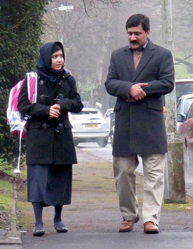 Grande-Bretagne : Malala reprend le chemin de l'école
