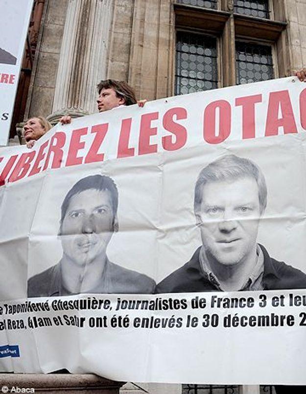Hervé Ghesquière et Stéphane Taponier : 500 jours de captivité