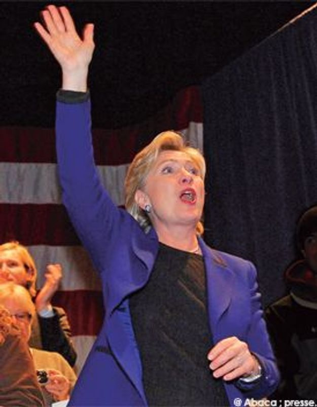 Hillary : aux femmes elle dit merci