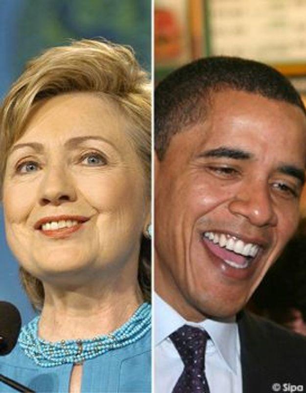 Hillary Clinton et Barack Obama : duel au sommet