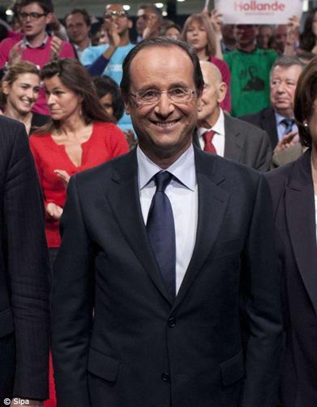Hollande, candidat officiel du PS pour les présidentielles