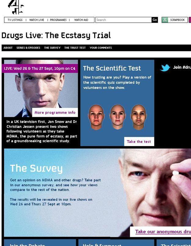 Ils consomment de l'ecstasy pour une émission de télé