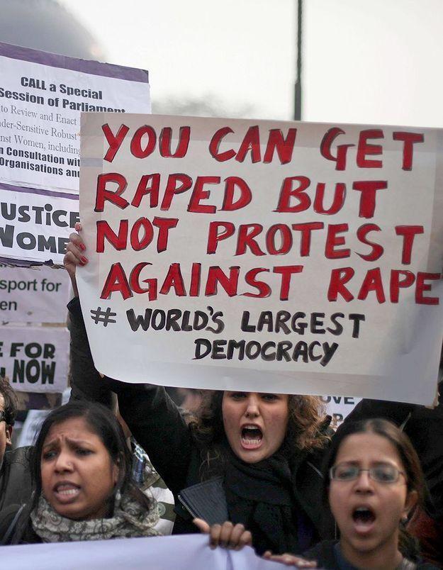 Inde : la « Brigade rouge » lutte contre les crimes sexuels